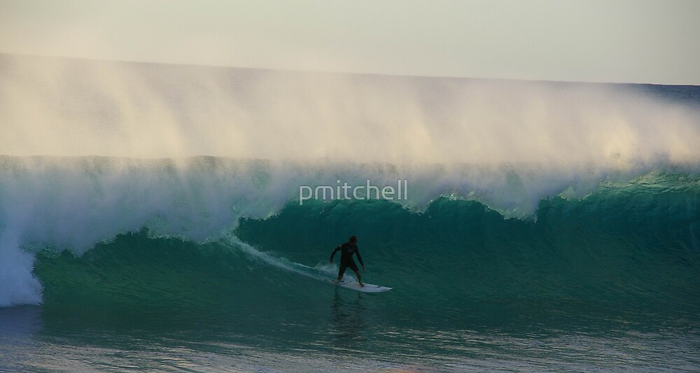 Surfing at Red Bluff, WA by pmitchell