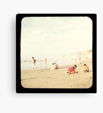 Beach Fun 2A Canvas Print