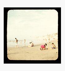 Beach Fun 2A Photographic Print