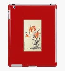 Tiger Lily - red iPad Case/Skin