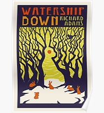 Watership Down by Richard Adams Poster