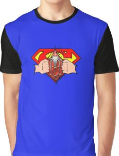Superman to Spiderman Graphic T-Shirt