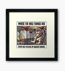 Where the Wild things are by Maurice Sendak Framed Print