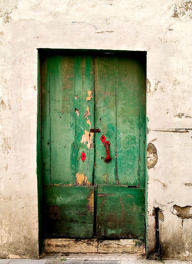 Green Door by RobYoung