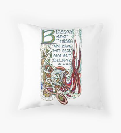 Blessed Are Throw Pillow