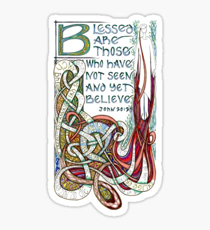 Blessed Are Sticker
