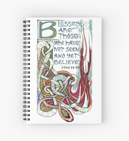 Blessed Are Spiral Notebook