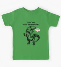 I Love You, Jesus and Dinosaurs Boys Dinosaur Shirt Kids Clothes