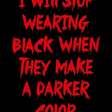 Stop Wearing Black by mpaev