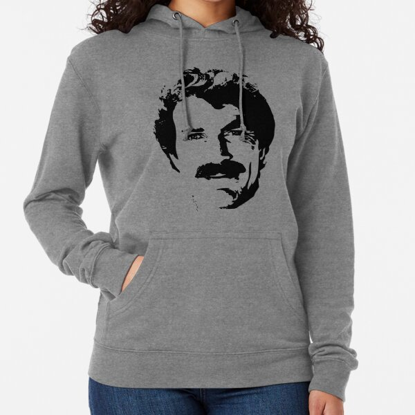 The Man With The Stache Lightweight Hoodie