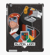Black Lion and Pilot iPad Case/Skin