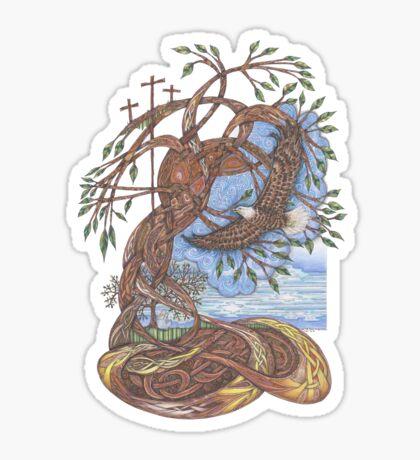 Faith, Hope and Eternal Love Sticker