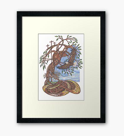 Faith, Hope and Eternal Love Framed Print