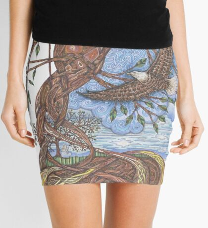 Faith, Hope and Eternal Love Mini Skirt