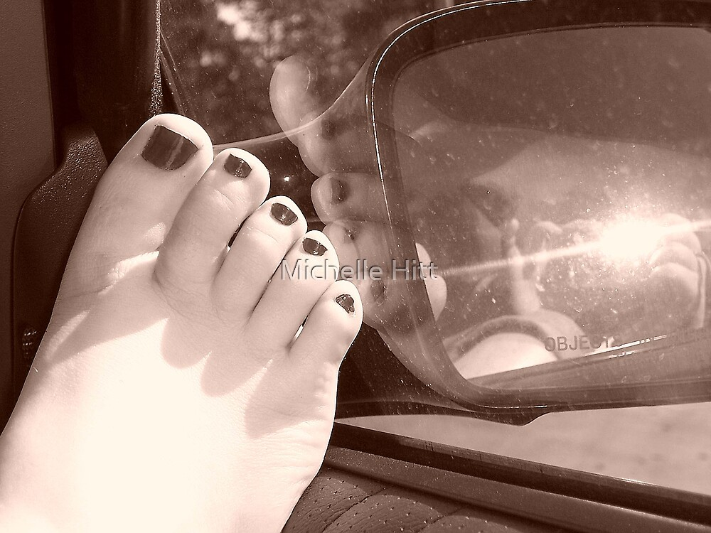 Reflections of a Footprint by Michelle Hitt