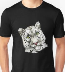 """Snow Leopard"" T-Shirt"