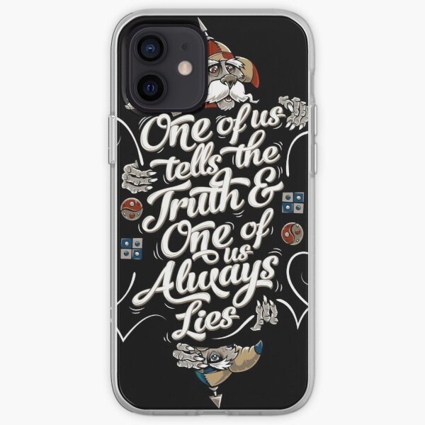 The Riddle iPhone Soft Case