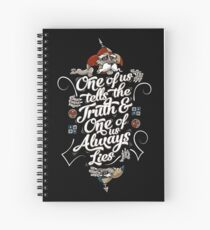 The Riddle Spiral Notebook