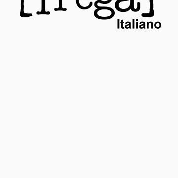 Scrubs Italian T-shirt by javidano
