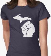 Michigan Resistance Women's Fitted T-Shirt