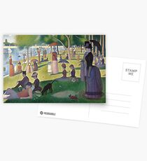 a sunday afternoon on the island of la grande jatte Postcards