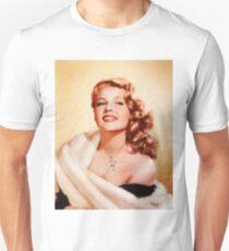 Rita Hayworth, Vintage Hollywood Actress Unisex T-Shirt