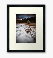 Seven Mile Beach Tasmania Framed Print