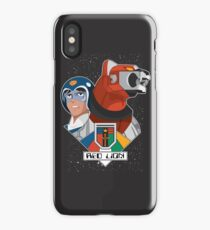 Red Lion and Pilot iPhone Case