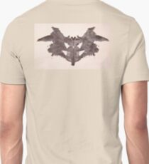 Psychology, Inkblot, first blot, Rorschach, inkblot test Unisex T-Shirt