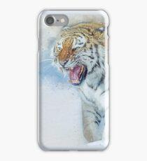 Siberian Tiger in snow iPhone Case/Skin