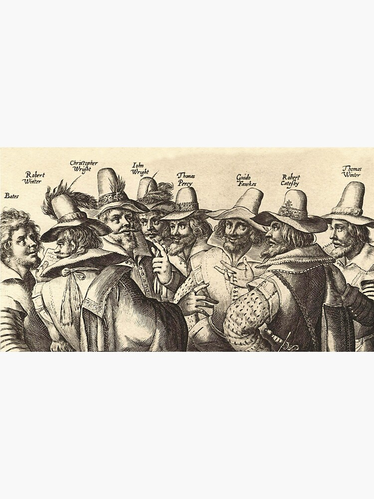 Guy Fawkes, Gunpowder Plot, Bonfire Night, Fireworks. by TOMSREDBUBBLE