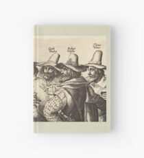 Guy Fawkes, Gunpowder Plot, Bonfire Night, Fireworks Hardcover Journal