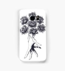 Hand with lotuses Samsung Galaxy Case/Skin