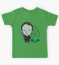 HP Lovecraft and Friend Kids Tee