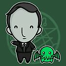 HP Lovecraft and Friend by perdita00