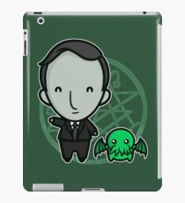 HP Lovecraft and Friend iPad Case/Skin