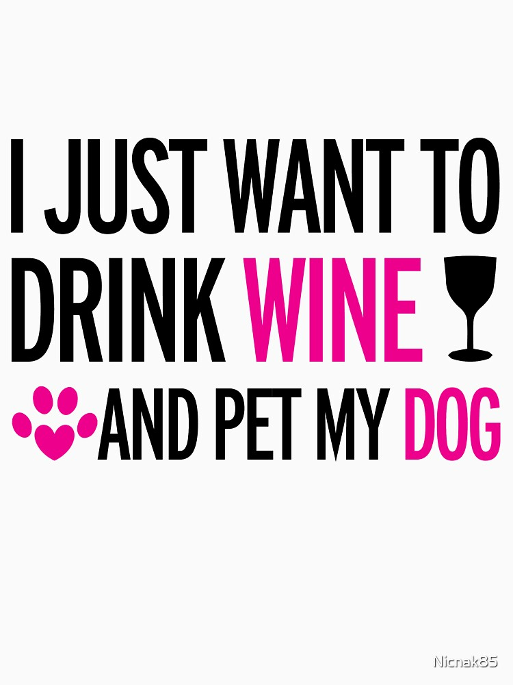 drink, wine, pet, dog by Nicnak85