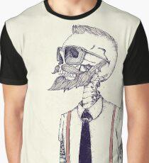 Camiseta gráfica The Gentleman se convierte en un Hipster