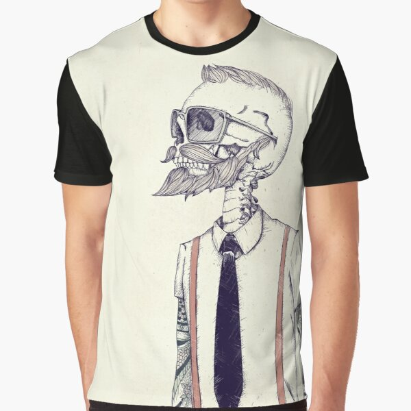 The Gentleman becomes a Hipster Graphic T-Shirt