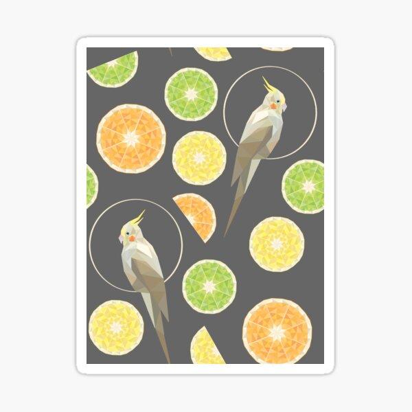 Citrus cockatiel  Sticker
