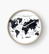 The World Map Clock