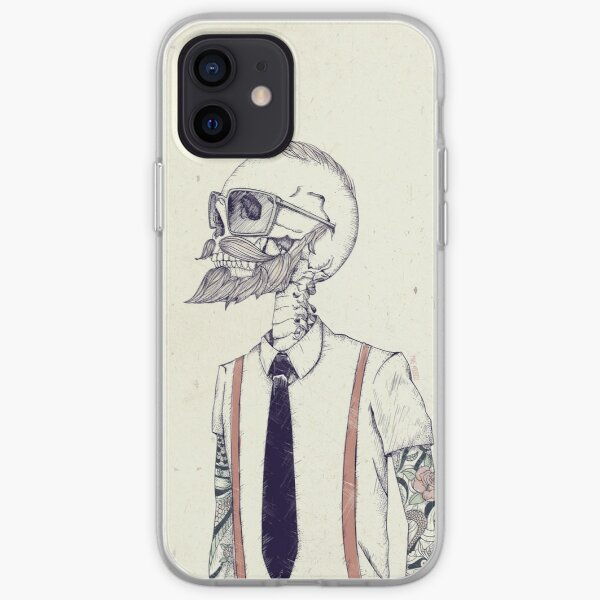 The Gentleman becomes a Hipster iPhone Soft Case