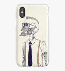 The Gentleman becomes a Hipster iPhone Case