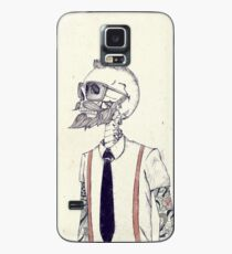 The Gentleman becomes a Hipster Case/Skin for Samsung Galaxy