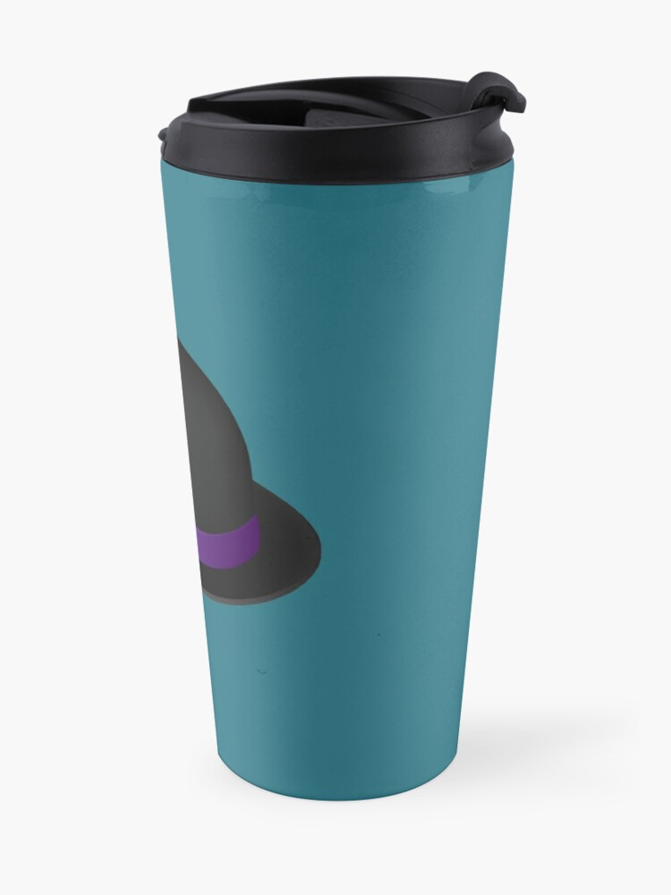 Alternate view of Alfred's hat & magnifying glass Travel Mug