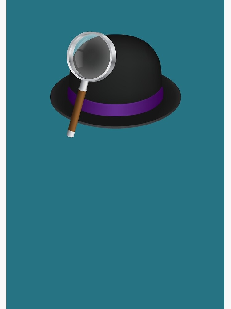 Alfred's hat & magnifying glass by alfredapp