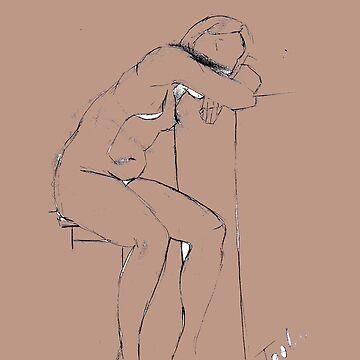 Figure Drawing  by tashaallen