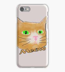 Meow Kitty iPhone Case/Skin