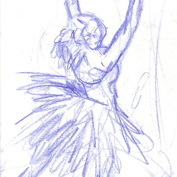 Dancer Sketch by tashaallen