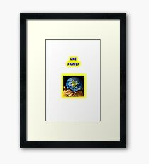 Save the Earth Framed Print
